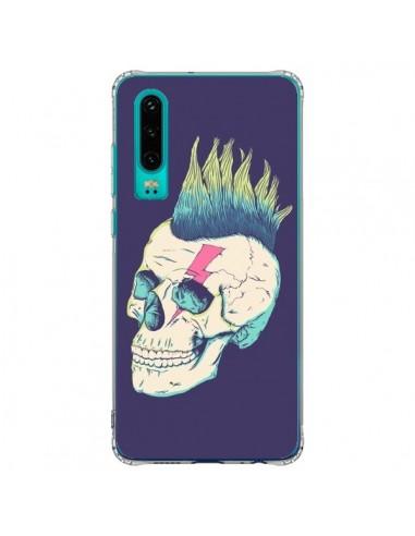 Coque Huawei P30 Tête de mort Punk - Victor Vercesi