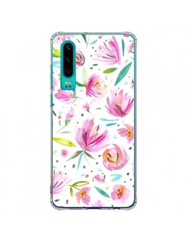 Coque Huawei P30 Painterly Waterolor Texture - Ninola Design