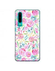 Coque Huawei P30 Speckled Watercolor Pink - Ninola Design