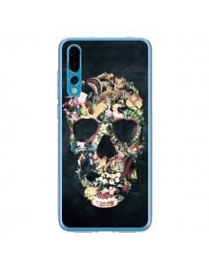 Coque Huawei P20 Pro Skull Vintage Tête de Mort - Ali Gulec