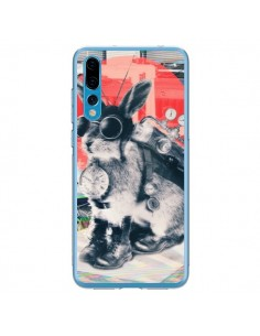 Coque Huawei P20 Pro Lapin Time Traveller - Ali Gulec