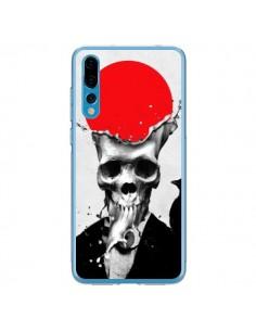 Coque Huawei P20 Pro Splash Skull Tête de Mort - Ali Gulec