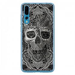 Coque Huawei P20 Pro Skull Lace Tête de Mort - Ali Gulec