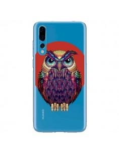 Coque Huawei P20 Pro Chouette Hibou Owl Transparente - Ali Gulec
