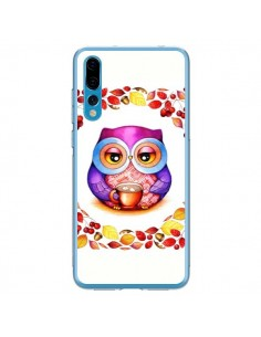 Coque Huawei P20 Pro Chouette Automne - Annya Kai