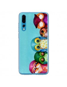 Coque Huawei P20 Pro Famille Chouettes - Annya Kai