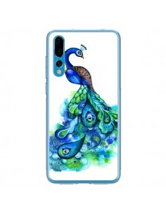Coque Huawei P20 Pro Paon Multicolore - Annya Kai