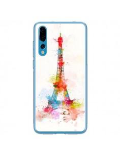 Coque Huawei P20 Pro Paris Tour Eiffel Muticolore - Asano Yamazaki