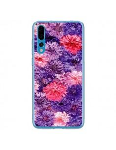 Coque Huawei P20 Pro Fleurs Violettes Flower Storm - Asano Yamazaki