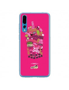 Coque Huawei P20 Pro Bubble Fever Original Flavour Rose - Bubble Fever