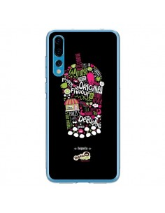 Coque Huawei P20 Pro Bubble Fever Original Flavour Noir - Bubble Fever