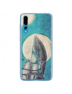 Coque Huawei P20 Pro Baleine Whale Voyage Journey - Eric Fan