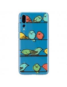 Coque Huawei P20 Pro Oiseaux Birds Transparente - Eric Fan