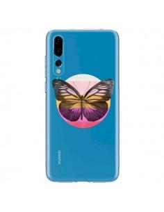 Coque Huawei P20 Pro Papillon Butterfly Transparente - Eric Fan