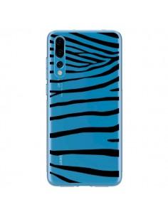 Coque Huawei P20 Pro Zebre Zebra Noir Transparente - Project M