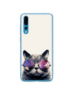 Coque Huawei P20 Pro Chat à lunettes - Gusto NYC