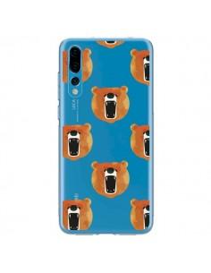 Coque Huawei P20 Pro Ours Ourson Bear Transparente - Dricia Do