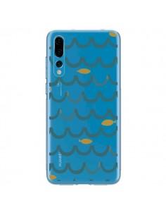 Coque Huawei P20 Pro Poisson Fish Water Transparente - Dricia Do