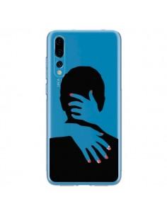 Coque Huawei P20 Pro Calin Hug Mignon Amour Love Cute Transparente - Dricia Do