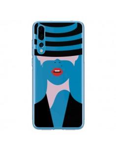 Coque Huawei P20 Pro Femme Chapeau Hat Lady Transparente - Dricia Do