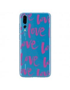 Coque Huawei P20 Pro Love Love Love Amour Transparente - Dricia Do