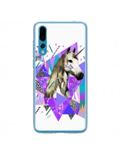 Coque Huawei P20 Pro Licorne Unicorn Azteque - Kris Tate