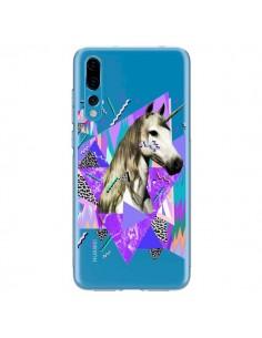 Coque Huawei P20 Pro Licorne Unicorn Azteque Transparente - Kris Tate