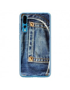 Coque Huawei P20 Pro Jean Bleu Vintage - Laetitia