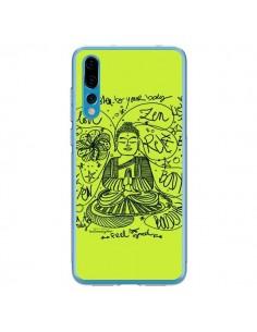 Coque Huawei P20 Pro Buddha Listen to your body Love Zen Relax - Leellouebrigitte