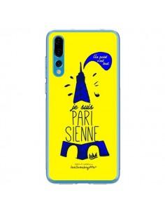Coque Huawei P20 Pro Je suis Parisienne La Tour Eiffel Jaune - Leellouebrigitte