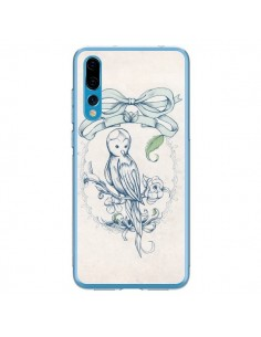 Coque Huawei P20 Pro Bird Oiseau Mignon Vintage - Lassana