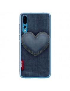 Coque Huawei P20 Pro Love Coeur en Jean - Lassana