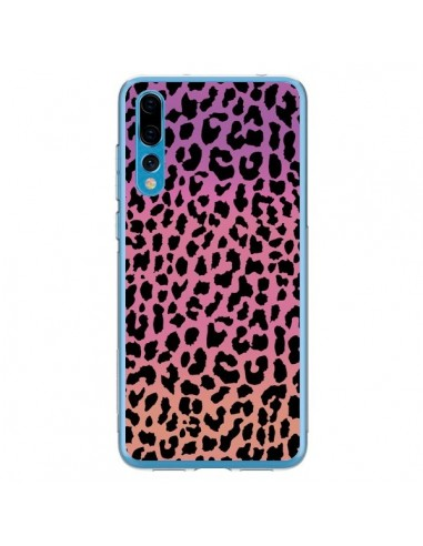 Coque Huawei P20 Pro Leopard Hot Rose Corail - Mary Nesrala