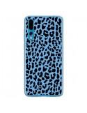 Coque Huawei P20 Pro Leopard Bleu Neon - Mary Nesrala