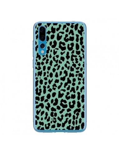 Coque Huawei P20 Pro Leopard Mint Vert Neon - Mary Nesrala