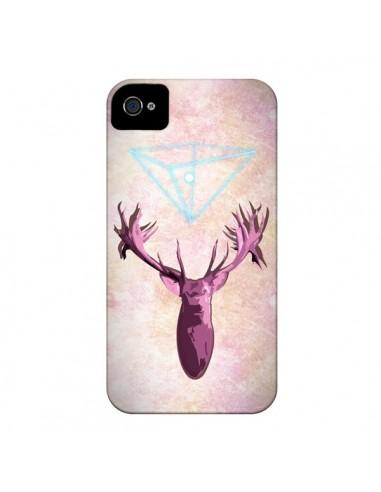 Coque Cerf Deer Spirit pour iPhone 4 et 4S - Jonathan Perez