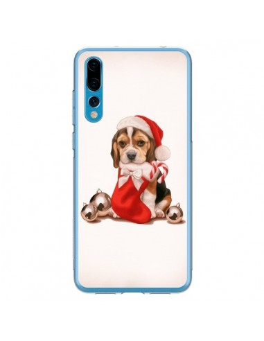Coque Huawei P20 Pro Chien Dog Pere Noel Christmas - Maryline Cazenave