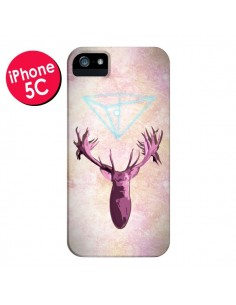 Coque Cerf Deer Spirit pour iPhone 5C - Jonathan Perez