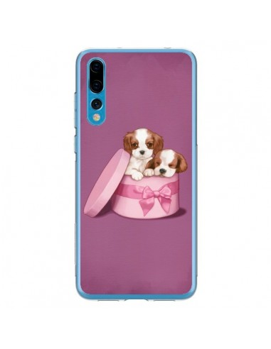 Coque Huawei P20 Pro Chien Dog Boite Noeud - Maryline Cazenave