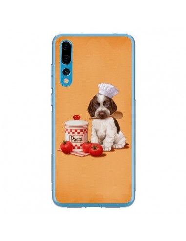 Coque Huawei P20 Pro Chien Dog Pates Pasta Cuisinier - Maryline Cazenave
