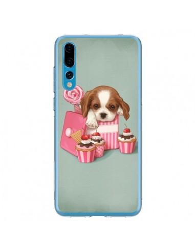 Coque Huawei P20 Pro Chien Dog Cupcake Gateau Boite - Maryline Cazenave