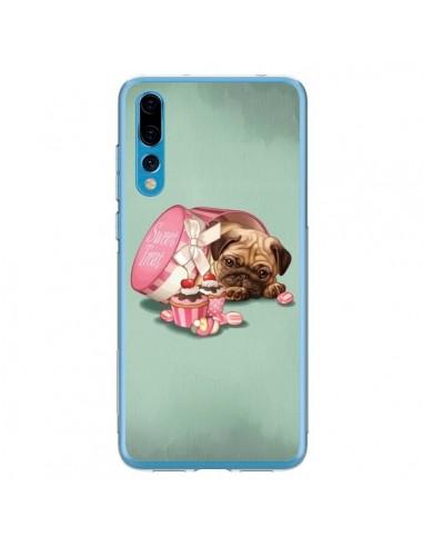Coque Huawei P20 Pro Chien Dog Cupcakes Gateau Bonbon Boite - Maryline Cazenave