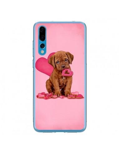 Coque Huawei P20 Pro Chien Dog Gateau Coeur Love - Maryline Cazenave