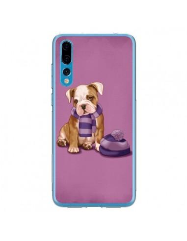 Coque Huawei P20 Pro Chien Dog Echarpe Bonnet Froid Hiver - Maryline Cazenave