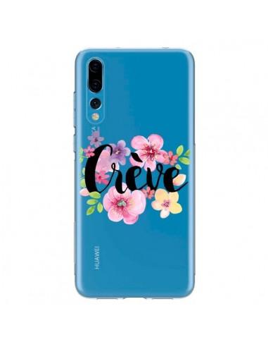 Coque Huawei P20 Pro Crève Fleurs Transparente - Maryline Cazenave