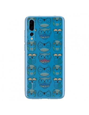 Coque Huawei P20 Pro Chouettes Owl Hibou Transparente - Maria Jose Da Luz