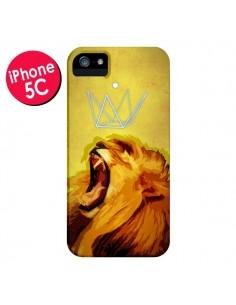 Coque Lion Spirit pour iPhone 5C - Jonathan Perez