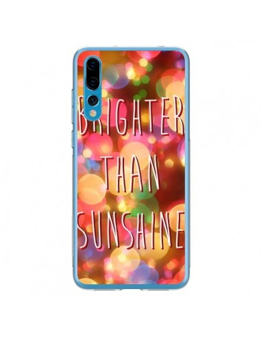 Coque Huawei P20 Pro Brighter Than Sunshine Paillettes - Maximilian San