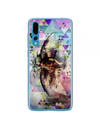 Coque Huawei P20 Pro Oeil Triangle Oiseau Cry Bird - Maximilian San