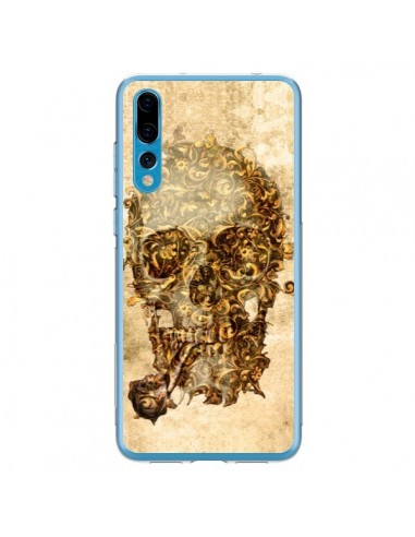 Coque Huawei P20 Pro Lord Skull Seigneur Tête de Mort Crane - Maximilian San